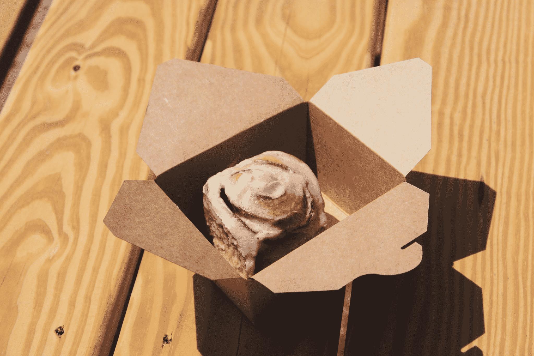 bread inside a box
