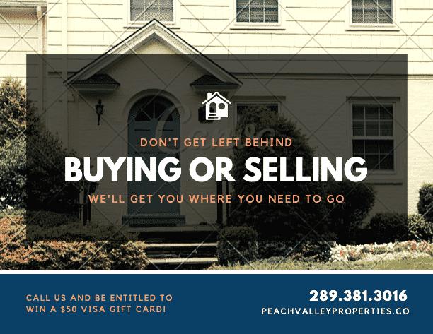 Stalled sales funnel real estate postcard targeting sellers - example