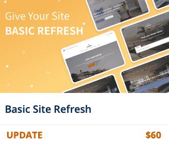 Basic Site Refresh Banner