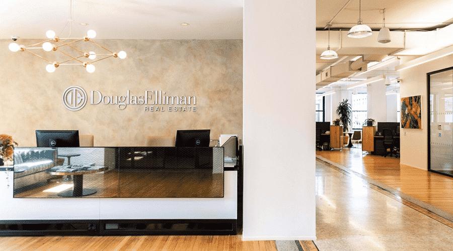 Douglas Elliman Real Estate Lobby