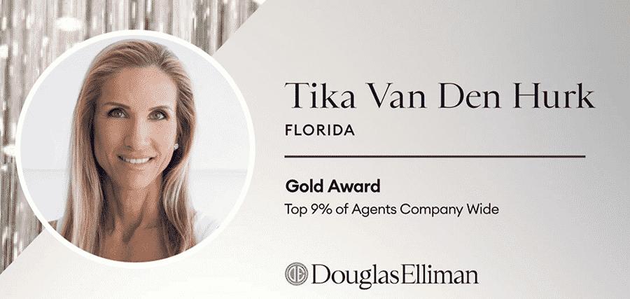 Tika Van Den Hurk Senior Director of Luxury Sales at Douglas Elliman