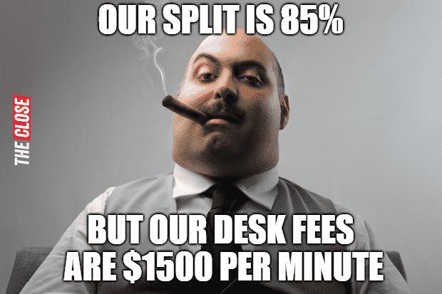 Desk fees Meme