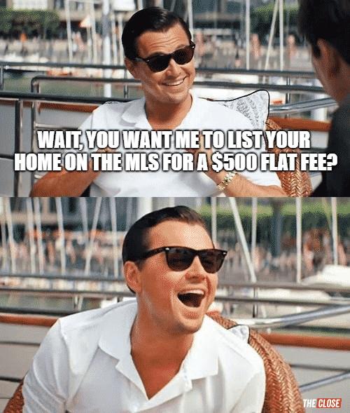Flat fee meme