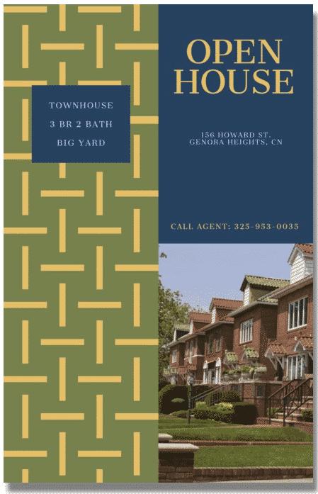 Minimal Open House Flyer