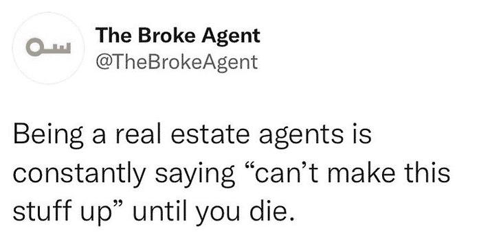 The Broke Agent Meme