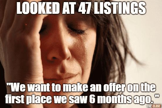 We're serious buyers Meme